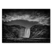 Americanflat 'Waterfall' by Lina Kremsdorf Photographic Print on Wrapped Canvas