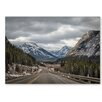 Americanflat 'Highway 1' by Lina Kremsdorf Photographic Print on Wrapped Canvas