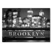 Americanflat Leinwandbild Brooklyn, Fotodruck von Lina Kremsdorf in Grau
