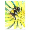 "Americanflat Leinwandbild ""Flower Bee III"" von Suren Nersisyan, Kunstdruck"