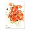 "Americanflat Leinwandbild ""Flowers"" von Suren Nersisyan, Kunstdruck"