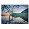 Americanflat 'Lake Boundary' by Lina Kremsdorf Photographic Print on Wrapped Canvas