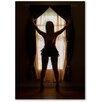 Americanflat Leinwandbild Window Girl, Fotodruck von Lina Kremsdorf