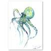 "Americanflat Leinwandbild ""Octopus"" von Suren Nersisyan, Kunstdruck"