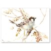"Americanflat Leinwandbild ""Sparrow"" von Suren Nersisyan, Kunstdruck"