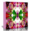 Americanflat 'Neon Rose redux2' by Rose Anne Colavito Graphic Art Wrapped on Canvas