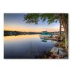 Americanflat 'Boat Lake' by Lina Kremsdorf Photographic Print Wrapped on Canvas