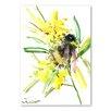 "Americanflat Leinwandbild ""Bee"" von Suren Nersisyan, Kunstdruck"
