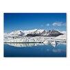 """Americanflat Leinwandbild """"Snow Mountain"""" von Lina Kremsdorf, Fotodruck"""