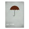 Americanflat 'Mary Poppins' by Christian Jackson Graphic Art on Wrapped Canvas