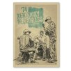 Americanflat 'Kentucky Bluegrass Festival' by Music Festival Vintage Advertisement on Wrapped Canvas