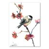 Americanflat 'Chickadee V' by Suren Nersisyan Painting Print on Wrapped Canvas
