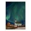 Americanflat 'Northern Lights' by Lina Kremsdorf Photographic Print Wrapped on Canvas