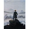 yourPainting Wanderer Above The Sea of Fog by Caspar David Friedrichs Original Painting on Canvas