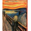 yourPainting yourPainting classic art The Scream by Edvard Munch Original Painting Wrapped on Canvas