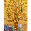 yourPainting yourPainting classic art Tree of Life by Gustav Klimt Original Painting on Canvas