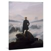 yourPainting Wanderer above the Sea of Fog by Caspar David Friedrich Original Painting on Canvas