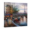 yourPainting Die Seine Original Painting on Canvas