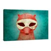 yourPainting Death as a Fox in a Mask by Kuba Gornowicz Original Painting on Canvas