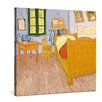 "yourPainting Leinwandbild ""Vincents Schlafzimmer"", Originalgemälde"