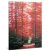 yourPainting Herbstzauber Original Painting on Canvas