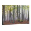 yourPainting Blick in den Nebelwald by Moqui Original Painting on Canvas