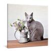yourPainting Stillleben mit der Katze by Nailia Schwarz Original Painting on Canvas