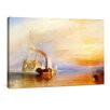 yourPainting Die kämpfende Temeraire by William Turner Original Painting on Canvas
