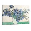 yourPainting Irises by Vincent Van Gogh Original Painting on Canvas