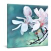 yourPainting Weiße Magnolien by Gnubier Original Painting on Canvas