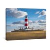 yourPainting Happisburgh Lighthouse Original Painting on Canvas