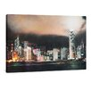 yourPainting Hong Kong Symphony of Lights Original Painting on Canvas