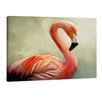 yourPainting Flamingo by Angela Dölling Original Painting on Canvas