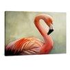 "yourPainting Leinwandbild ""Flamingo"", Originalgemälde"