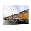 yourPainting Kopenhagen Hafen Original Painting on Canvas