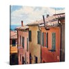 yourPainting Farbenfrohe Gasse Original Painting on Canvas
