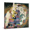 yourPainting The Maiden by Gustav Klimt Original Painting on Canvas