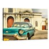 yourPainting Cuba Oldtimer by Marcel Holbein Original Painting on Canvas