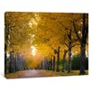 yourPainting Autumn Light Original Painting on Canvas