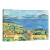 yourPainting Die Bucht von Marseille by Paul Cezanne Original Painting on Canvas