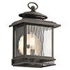 Kichler Pettiford 1 Light Outdoor Wall Lantern