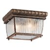 Kichler Venetian Rain 2 Light Outdoor Flush Mount
