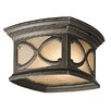 Kichler Franceasi 2 Light Outdoor Flush Mount