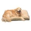 Carolina Pet Company Four Season Pet Bed with Cashmere Berber Top in Olive with Khaki Cording