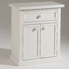 Castagnetti 2 Door 1 Drawer Small Shoes Cabinet