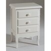 Castagnetti 3 Drawer Bedside Table