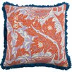 "Thomas Paul Calico 22"" Linen Throw Pillow"