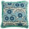 "Thomas Paul Scroll 22"" Linen Throw Pillow"
