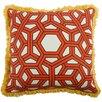 """Thomas Paul 22"""" Hexagon Linen Throw Pillow"""