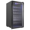 AKDY 32 Bottle Single Zone Freestanding Wine Refrigerator